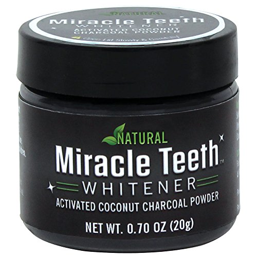 New! As Seen On TV Miracle Teeth Whitener - The Natural Way To Whiten Teeth!