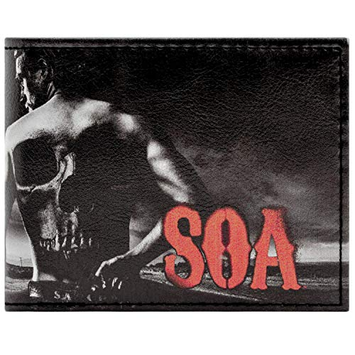 Cartera de Fox Sons of Anarchy Jax Teller Negro