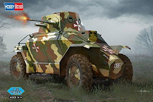 Hobby Boss 83866 – Modèle Kit Hungarian 39 m Csaba Armored Car