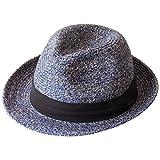 (エッジシティー)EdgeCity 洗える帽子 折りたためる ホームウォッシュマニッシュ ハット (M, 15/ネイビー) 000625-0015-58