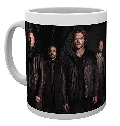 GB Eye Supernatural Key Art Tasse, Mehrfarbig