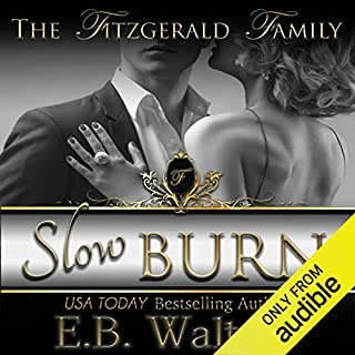 Slow Burn audiobook cover art