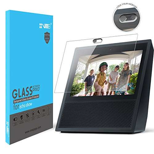 Echo Show Screen Protector(Don't use for New Echo Show 2nd,Webcam Cover Not only to Protect Echo Show Screen is More Important to Protect Everyone's Privacy is Safe. (Black)