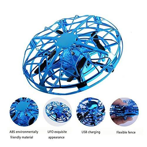 UFO Toy RC Flying Ball Kylewo Mini Drone para ni/ños 360 /° Rotaci/ón Libre Hover Helicopter Principiante Drone Flying Toy