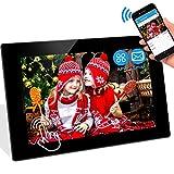 WiFi Digitaler Bilderrahmen WLAN Elektronischer Fotorahmen mit 10.1 Zoll 1280P