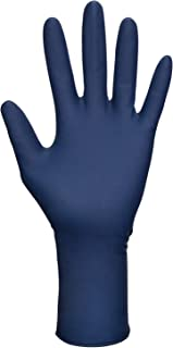 SAS Safety 6604-20 Thickster Powder Free Exam Grade Disposable Latex 14 Mil Gloves, Extra Large, 50 Gloves by Weight