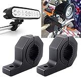 Support de montage de la barre de lumière LED hors route Bull Barre de roulement horizontale Kit de serrage 2 pouces / 2.4 pouces...