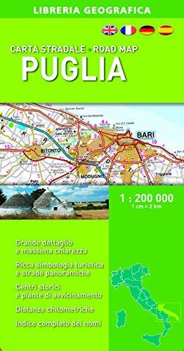 Puglia 1:200.000 (Carte stradali regionali d'Italia)