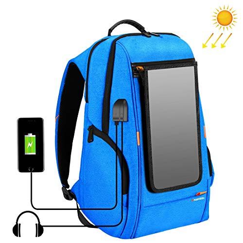 best solar powered backpack haweel