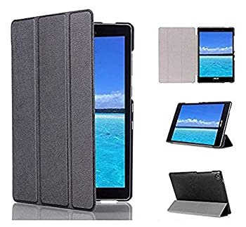 Kepuch Custer Case for ASUS Zenpad S 8.0 Z580C Z580CA,Ultra-Thin PU-Leather Hard Shell Cover for ASUS Zenpad S 8.0 Z580C Z580CA - Black