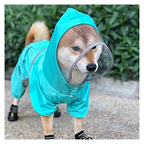 LOOEST Abbigliamento Impermeabile per Cani Abbigliamento...