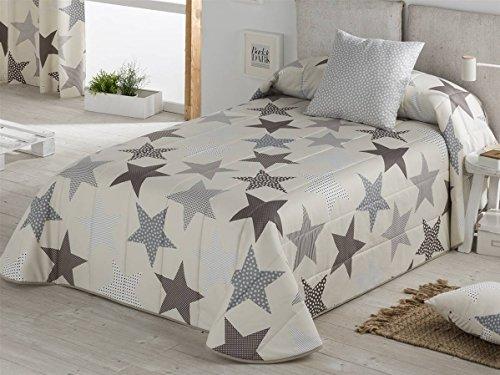 Sansa - Bouti Estrellas Cama 90 - Color Gris