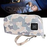 Calentador de biberones para bebés, bolsa de aislamiento portátil para biberones para viajes en el hogar y uso al aire libre(camouflage, Pisa Leaning Tower Type)