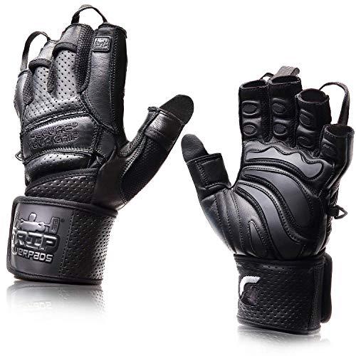 Elite Leather Gym Gloves