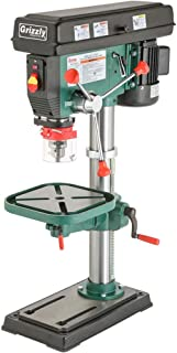 Grizzly G7943 1434; Heavy-Duty Benchtop Drill Press