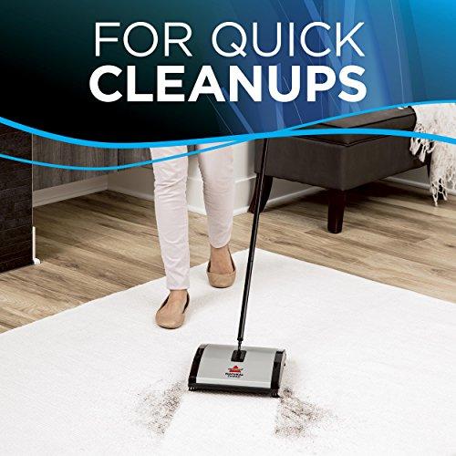 Bissell 92N0N Natural Sweep Kehrer, für Hartböden und Teppiche, kabellos, benötigt keinen Strom - 3