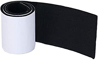 Joyoldelf Felt Furniture Pads with Strong Adhesive, DIY Self Heavy Duty Felt Strip Roll & Wood Floor Protector, Suitable for Table, Sofa, Plant Pots and Dishes, 39.37''x 3.93'' (Black)