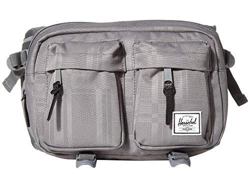 Herschel Eighteen Waist Pack, Quiet Shade Plaid, 6.0L
