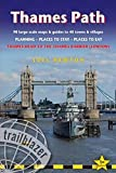 Thames Path - Thames Head to the Thames Barrier (London): 90 large-scale maps & guides to 40 towns & villages; Planning, Places to stay, Places to eat (British Walking Guides)