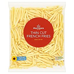 Morrisons Thin Cut French Fries, 1.2kg (Frozen)