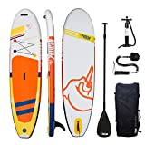 Pelican Antigua 106 Premium Inflatable 10.6 feet Stand-Up Paddle Board...