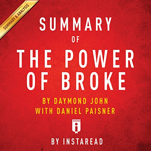 Summary of The Power of Broke, by Daymond John with Daniel Paisner | Includes Analysis audiobook cover art