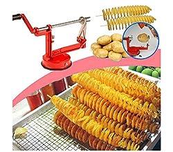 takestop Spiralschneider Twister, schneidet Kartoffeln und Früchte, praktisches Küchenutensil