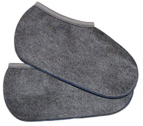 2 Stiefelsocken (sogenannte Roßhaarsocken), Spezialartikel, warm