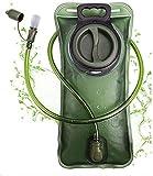 PUNDA Premium Trinkblase 2L mit Beissventil -...