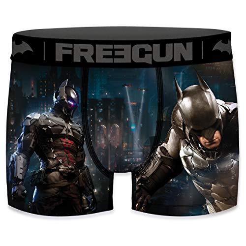 FREEGUN Boxer Homme DC Comics Batman Arkham City (M, Arkham Knight)