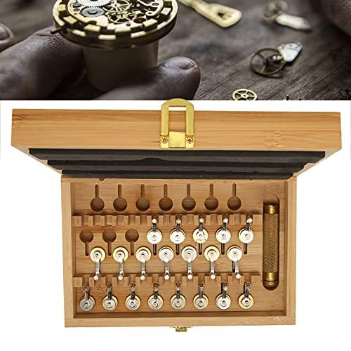 FEYV Mango de enrollador de Reloj, Accesorio de bobinado de Reloj de Cobre para Herramienta de bobinado para Reparar
