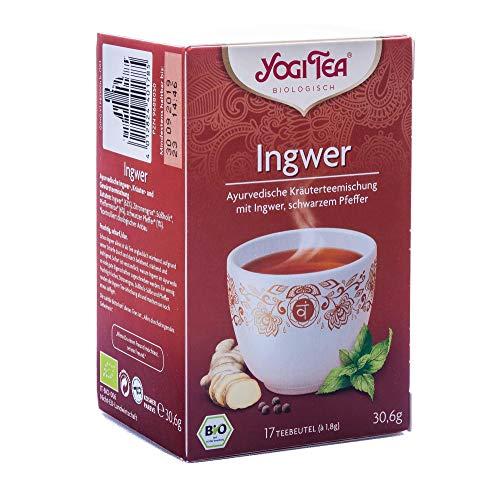 NEU! Yogi Tee Ingwer schwarzer Pfeffer, 17 Teebeutel, 30,6 g