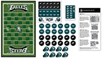 MasterPieces NFL Philadelphia Eagles Checkers Board Game Set, for 2 Players, Ages 6+, Multicolor