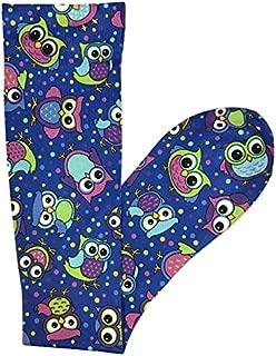 Prestige Medical Soft Comfort Compression Socks, Party Owls Royal, 2 Count