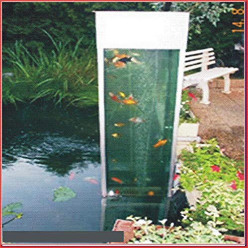 Zoo-Center-Tausz TAB Fischsäule 60x60x140cm ca. 500L.Teichsäule m.Wasseraustausch +Belüftung