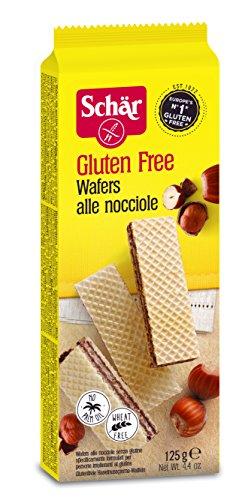 Schär Waffeln - Haselnuss glutenfrei 125g, 6er Pack