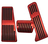 アルミペダルfor MAZDA AXELA ATENZA CX-5 cx8 CX-8(マツダ アクセラ アテンザ CX-5)スポーツ セダン BM系 赤