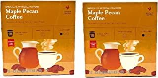Archer Farms Maple Pecan Coffee K Cups - 36 Pods Total - Light Roast, Arabica Coffee - Comes In 2 Boxes of 18 K Cups Each - Limited Edition Fall Flavor