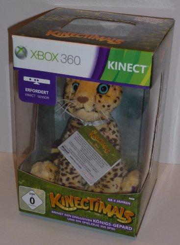 Kinectimals Spiel + Königs-Tiger Plüschtier