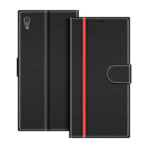 COODIO Funda Sony Xperia XA1 Ultra con Tapa, Funda Movil Son