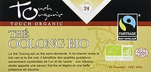 Touch Organic - Thé Oolong bio en sachets 24 sachets