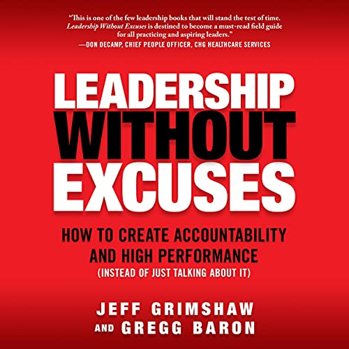 Leadership Without Excuses cover art