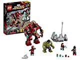 LEGO Super Heroes - Marvel - 76031 - Jeu de Construction - le Combat du Hulk Buste