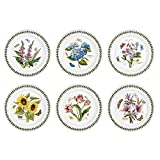 BEAUTIFUL STATEMENT: These Botanic Garden dinner plates from Portmeirion come in a variety of botanical motifs and makes a beautiful statement on the table. It is the perfect dinnerware for modern day dining being dishwasher, microwave, freezer and o...