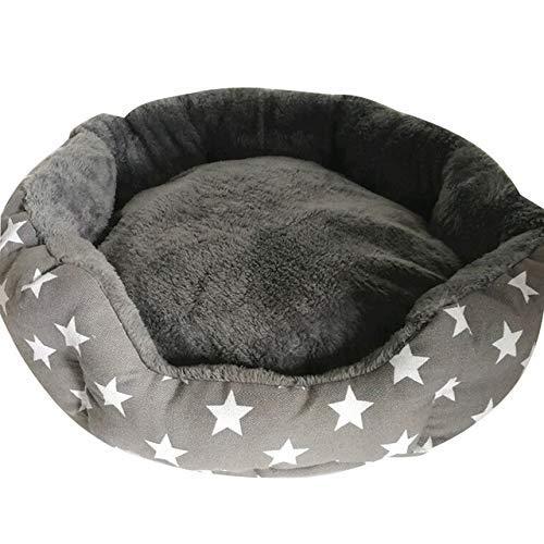 Qazxsw Cama cálida para Perros de Invierno/Sofá Suave para Mascotas Cama para Gatos/Perrera cómoda Transpirable Lavable para Perros