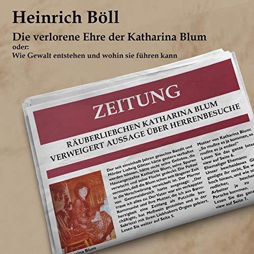 Die verlorene Ehre der Katharina Blum Titelbild