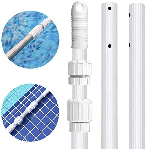 Vikii Store 16 Foot Swimming Pool Pole Telescopic Aluminum Professional Fits Pool Net Skimmer product image