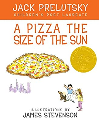 A Pizza the Size of the Sun is a poetry book that can hold boys' interest.
