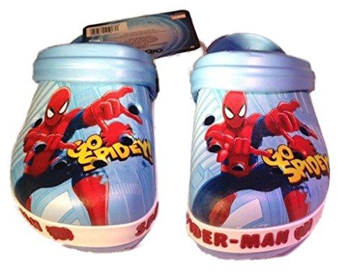 Spiderman Clogs, Motiv:Spiderman;Größe:22/23