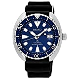 Seiko Men's 42mm Black Silicone Band Steel Case Automatic Watch SRPC39J1